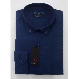 Camisa Puntitos (100% Algodon )
