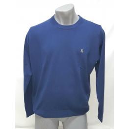 Jersey Azul (50% Lana Merino 50% Acrilico )