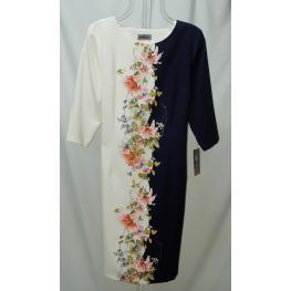 Vestido Flores (96%poliester4%elastanf100%poli)