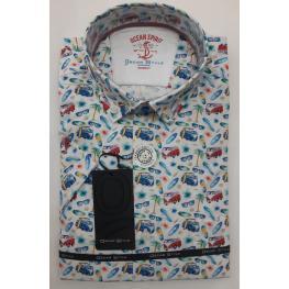Camisa Hawai (100%algodon)