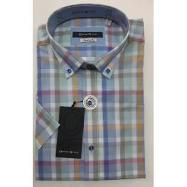 Camisa Cuadros (80%algodon20%poliester)