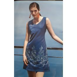 Vestido Bordado (100%algodon)
