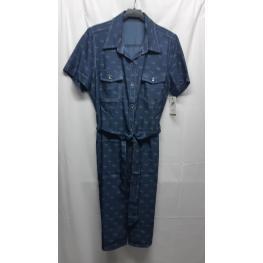 Vestido Vaquero (70%rayon27%poliester3%elastan)