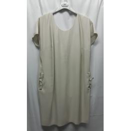 Vestido Lazo Espalda (89%viscosa11%poliester)