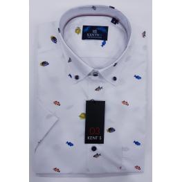 Camisa Peces (100%algodon)