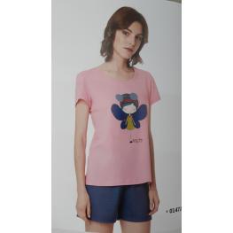 Pijama Muñeca (100%algodon)