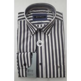 Camisa Rayas (100% Algodon)