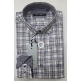 Camisa Cuadros(70% Algodon30% Poliester)