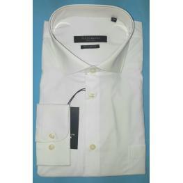 Camisa Vestir Blanca(80% Algodon 20% Poliester )