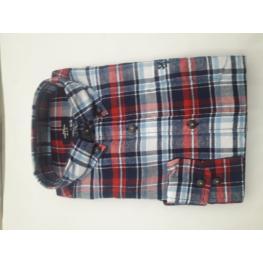 Camisa Cuadros Franela (100% Algodon )