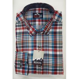 Camisa Cuadros (70% Algodon 30% Poliester)