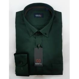 Camisa Lisa Verde (100%algodon)