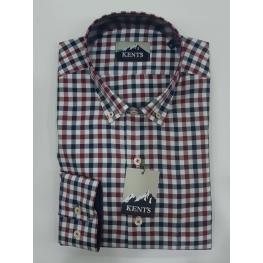 Camisa Cuadros (60%algodon40%poliester)