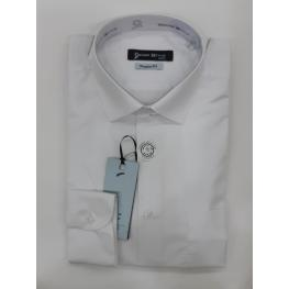 Camisa Blanca(50% Algodon 50% Poliester)
