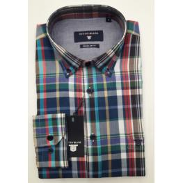 Camisa Cuadros(80% Algodon 20% Poliester)
