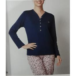 Pijama Estampado (50% Algodon 50% Poliester)