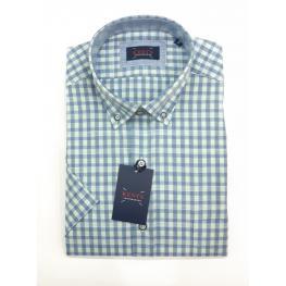 Camisa Endrina Verde (70% Algodon 30% Poliester )