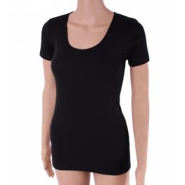 Camiseta M/c En Negro Anti-Alérgica de Ferrys T. S Hasta Xl