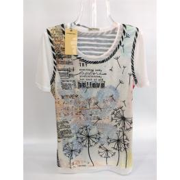 Camiseta M/corta Tul