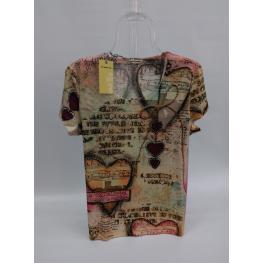 Camiseta de ( Corazones )