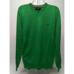 Jersey Caballero Verde Liso de Gendive T.