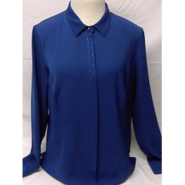 Camisa Vestir Azul de Hortensia T. 46, 48, 50 y 52