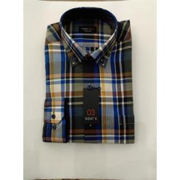 Camisa Caballero Milonga Cuadros de Kent'S T. 4, 5 y 6