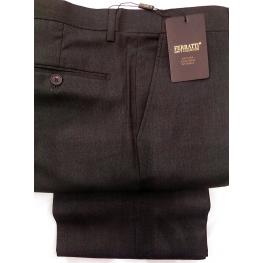 Pantalón Vestir Caballero Marrón Oscuro de Ferratti T. 50 A 56