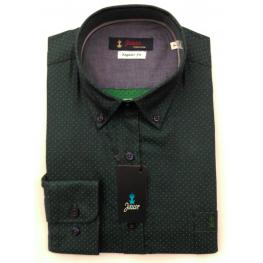 Camisa Caballero Verde Lunares de Jause T. 4, 5 y 6