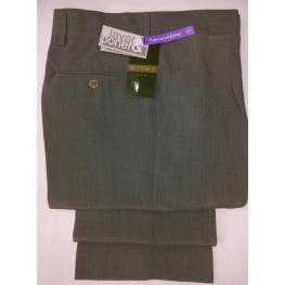 Pantalon Vestir Cro Con Una Pinza (52) 100%poliester Micro V