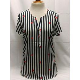 Camiseta Rayas (52) 100%poliester