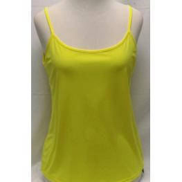 Camiseta Tirante Amarillo (Xl) 95%poliester%elastan