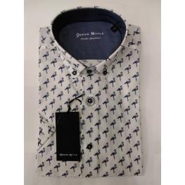 Camisa Flamenco (4)100%algodon