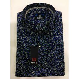 Camisa Flores (7) 100%algodon