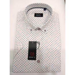 Camisa Flores (6)100%algodon
