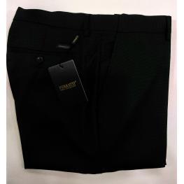Pantalon Azul Gomas Lados Escondidas  (54)80%poliester20%viscosa