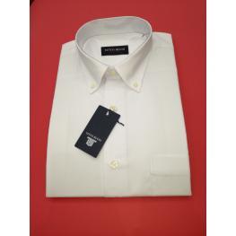 Camisa Manga Corta ( Blanca ) 42
