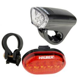 Kit Luces Led Bicicleta 2 Luces Plus