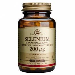Selenio 200 Ug 100 Tab