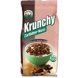Krunchy Choco Negro- Avellana Bio 375 Gr