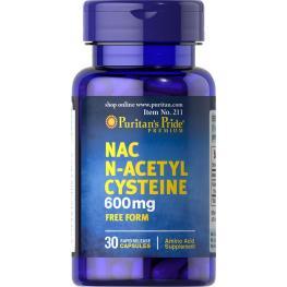 Nac-N-Acetyl Cysteine 600 Mg 60 Cap