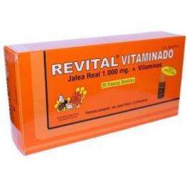 Revital Vitaminado 20 Ampollas