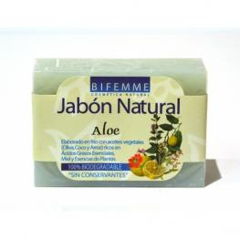Jabón Natural Aloe 100 Gr