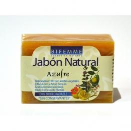 Jabón Natural Azúfre 100 Gr