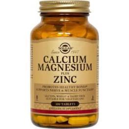 Calcium Magnesium Plus Zinc 100 Tab