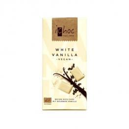 Chocolate Blanco Vainilla Bio 80 Gr
