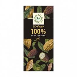 Tableta Cacao Puro 100% Bio 70 Gr
