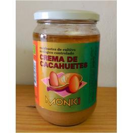 Crema de Cacahuetes 650 Gr
