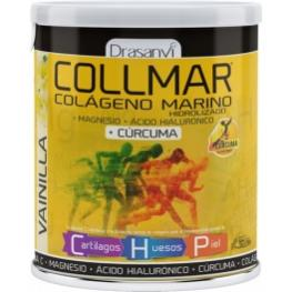 Collmar Magnesio Con Cúrcuma Sabor Vainilla 300 Gr