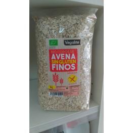 Copos Avena Finos Sin Gluten Bio 1 Kg